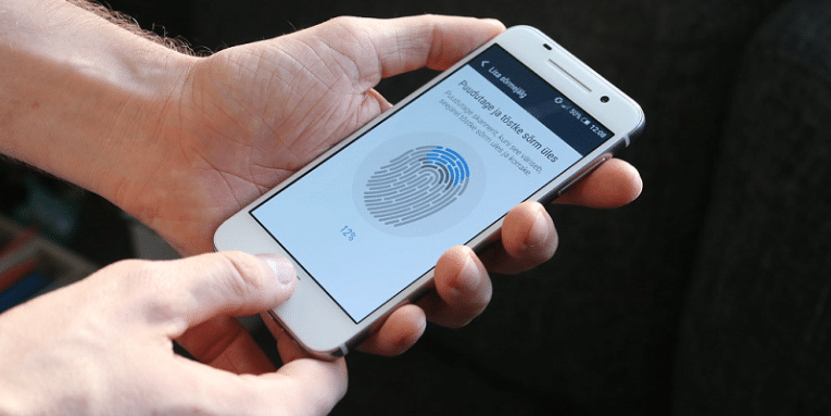 USING FINGERPRINT FOR LOGGING INTO THE PHONEO